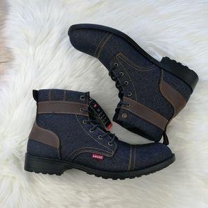 Levi's Demin Boots Size 12